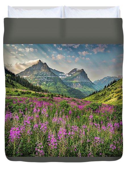 Glacier Meadow Duvet Cover