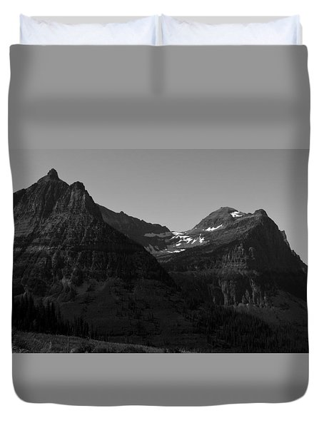 Glacier National Park 2 Duvet Cover