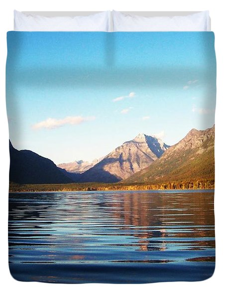 Glacier National Park 7 Duvet Cover