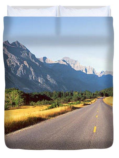 Glacier National Park, Montana Duvet Cover