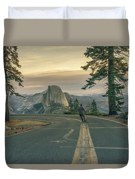 Glacier Point Adventure Duvet Cover