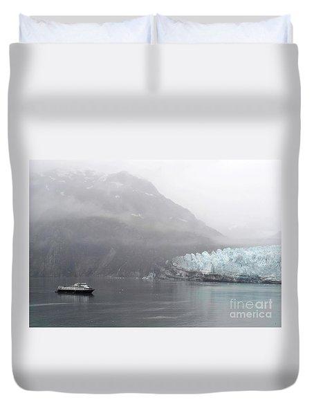 Glacier Ride Duvet Cover