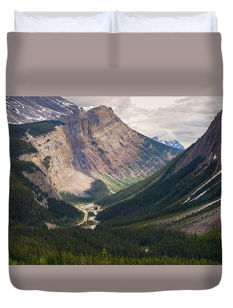 Glacier Road Duvet Cover