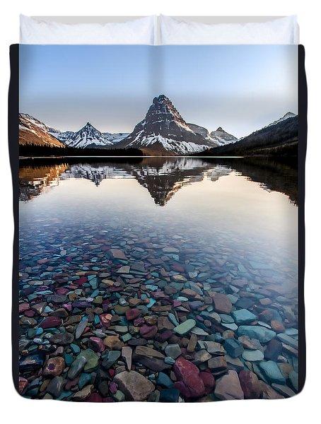Glacier Skittles Duvet Cover
