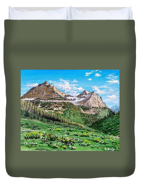 Glacier Summer Duvet Cover