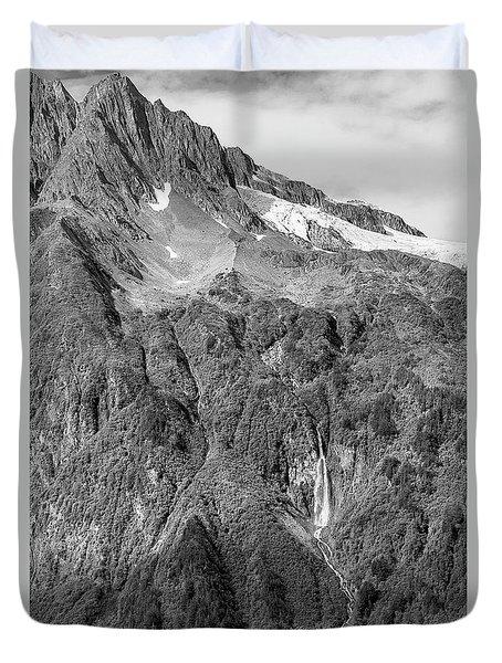 Glacier Waterfall Duvet Cover
