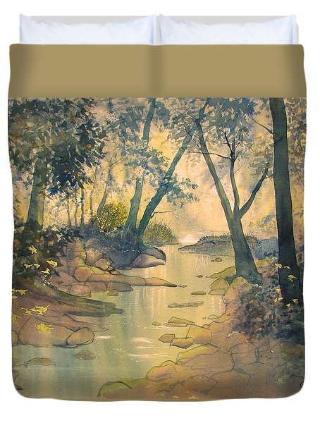 Glade O'green Duvet Cover
