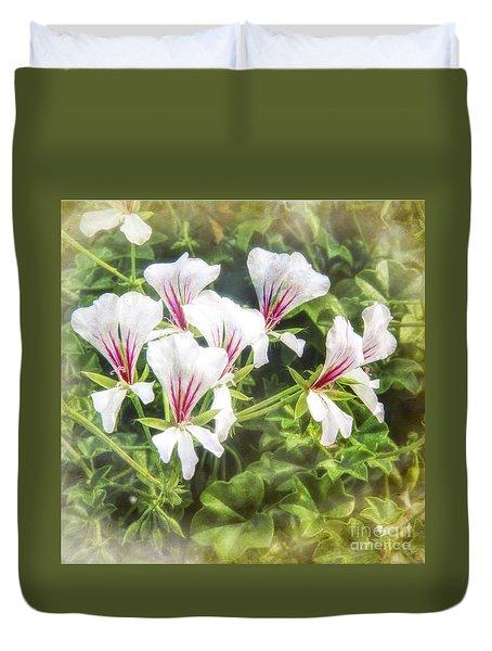 Gladiolus Callianthus Duvet Cover
