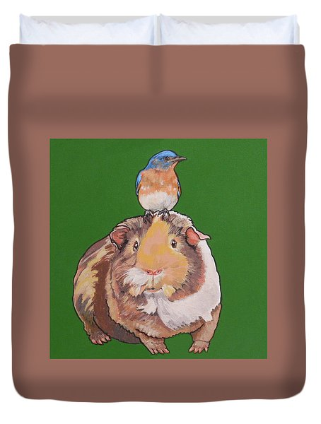 Gladys The Guinea Pig Duvet Cover