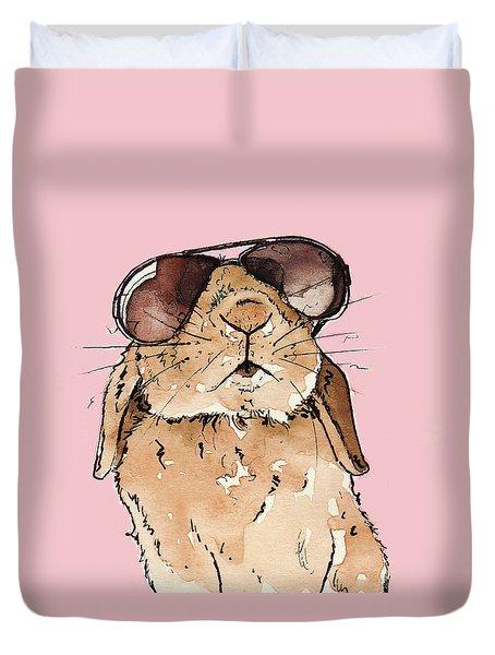 Glamorous Rabbit Duvet Cover