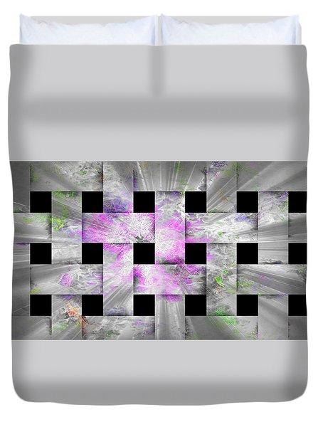 Glaring Flowers Duvet Cover