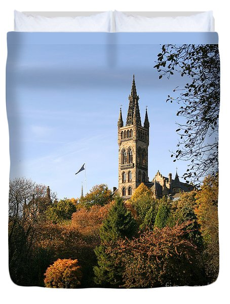 Glasgow University Duvet Cover