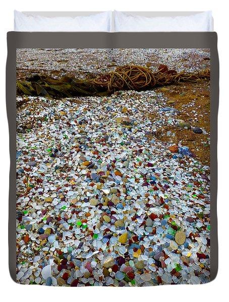 Glass Beach Duvet Cover