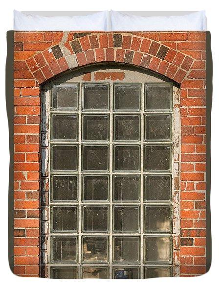 Glass Block Window Duvet Cover