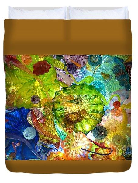 Glass Ceiling 2 Duvet Cover