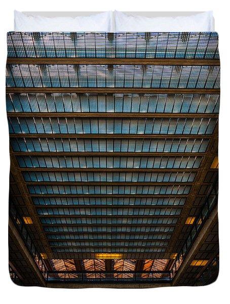 Glass Ceiling Duvet Cover