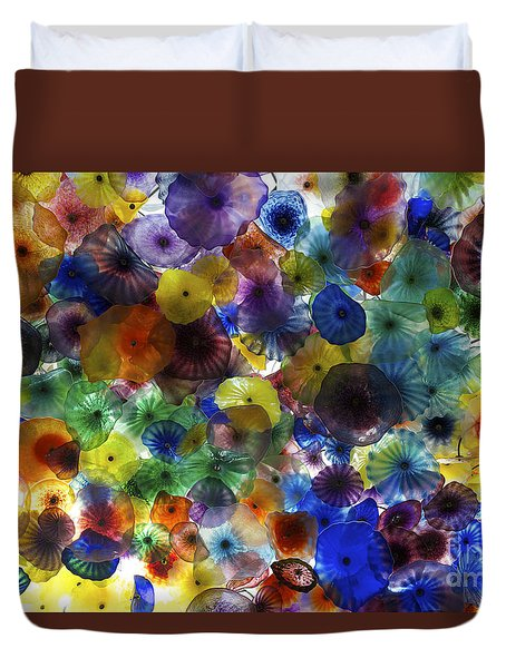 Glass Ceiling Duvet Cover