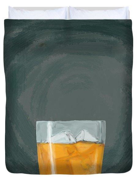 Glass, Ice,  Duvet Cover