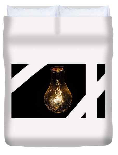 Glass Light Art Duvet Cover