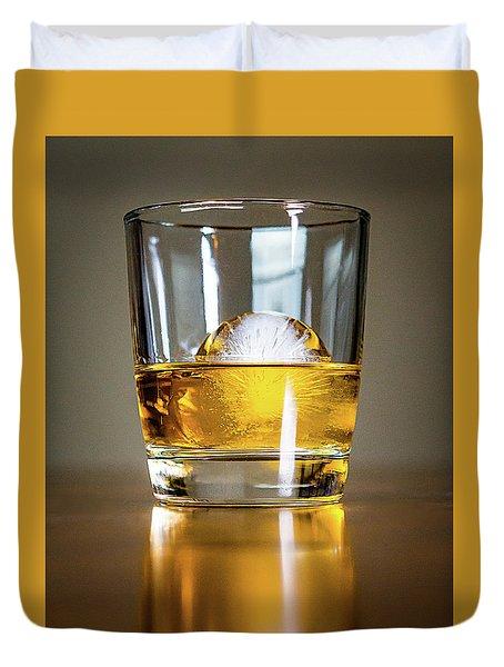 Glass Of Whisky Duvet Cover