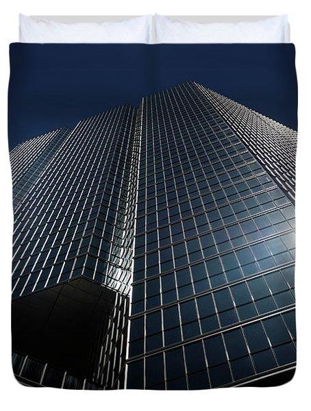 Glass Office Building Duvet Cover by Oleksiy Maksymenko