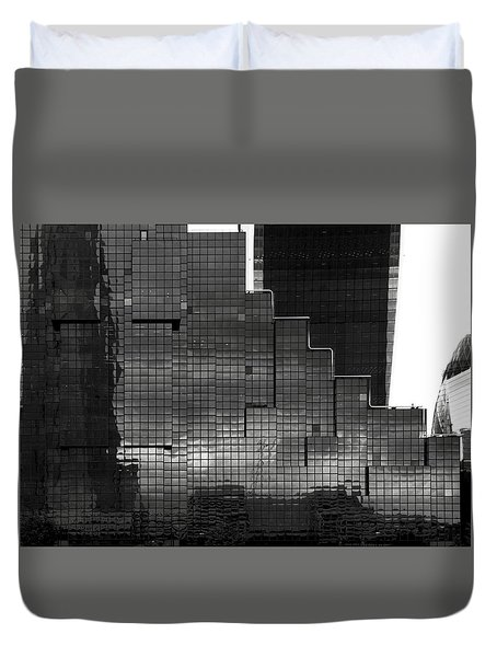 Glass Stairs Duvet Cover