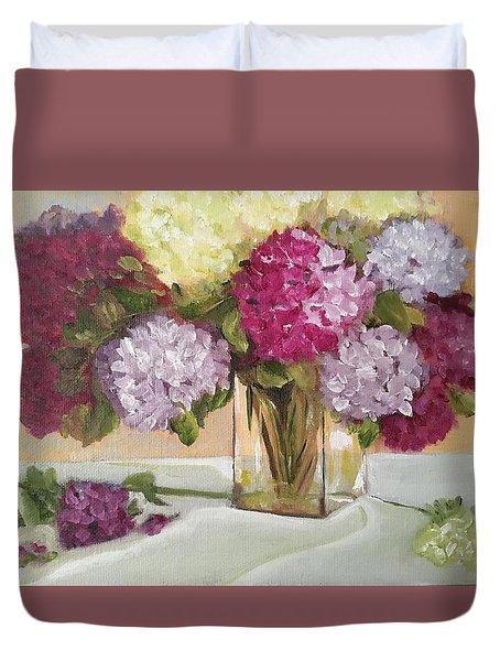 Glass Vase Duvet Cover