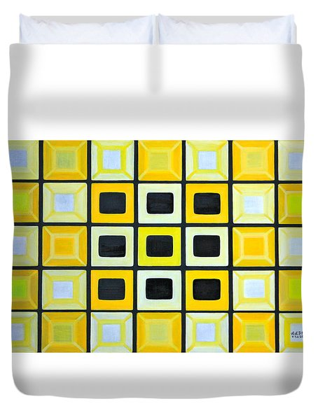 Glass Wall Duvet Cover