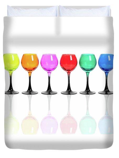 Glasses #2085 Duvet Cover