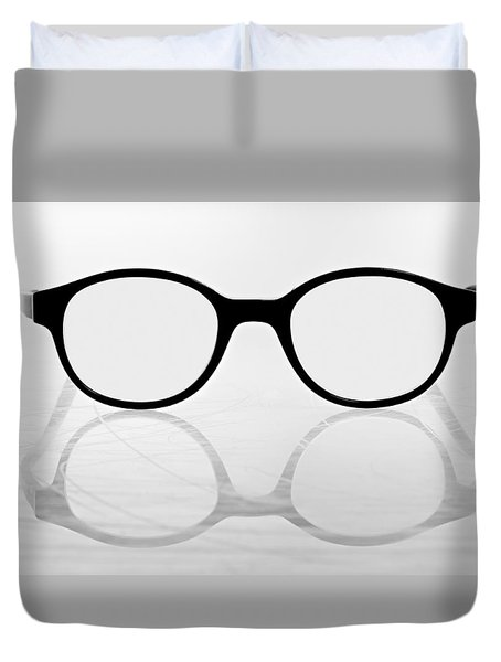 Glasses #8669 Duvet Cover