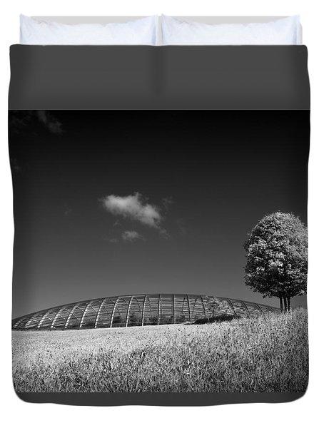 Glasshouse At The National Botanic Gardens, Wales Duvet Cover