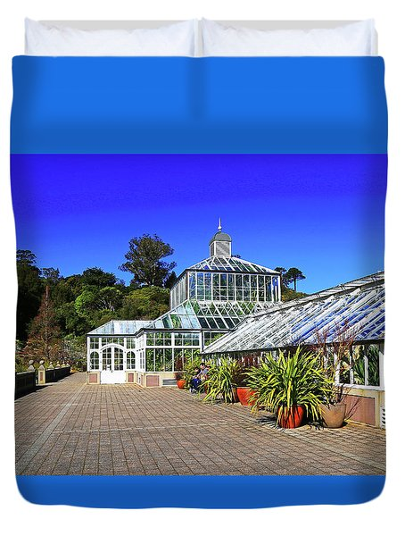 Glasshouse Entrance Duvet Cover