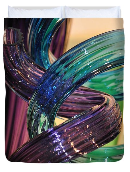 Glassworks 2 Duvet Cover by Marty Koch