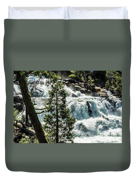 Glen Alpine Falls 1 Duvet Cover