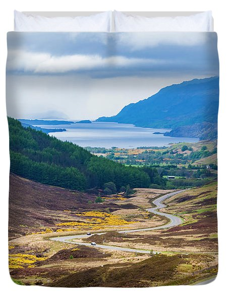 Glen Docherty In Scotland Duvet Cover
