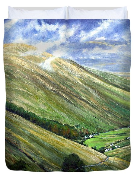 Glen Gesh Ireland Duvet Cover