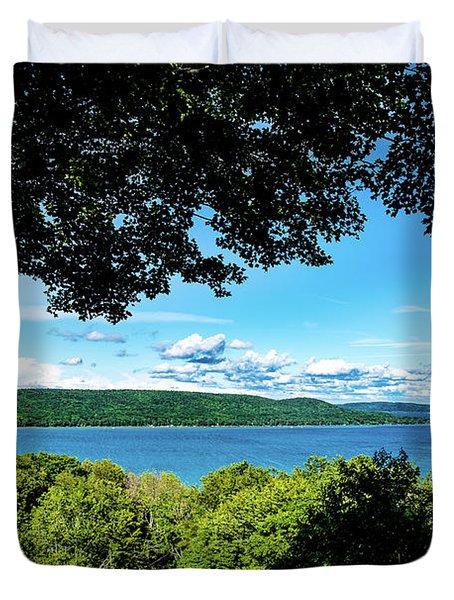 Glen Lake Duvet Cover