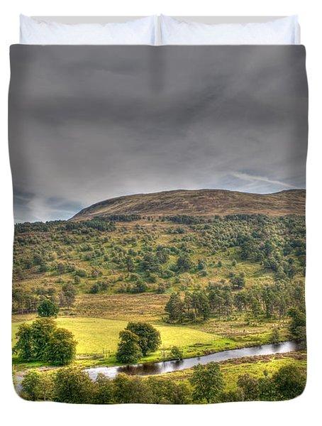 Glen Lyon Scotland Duvet Cover