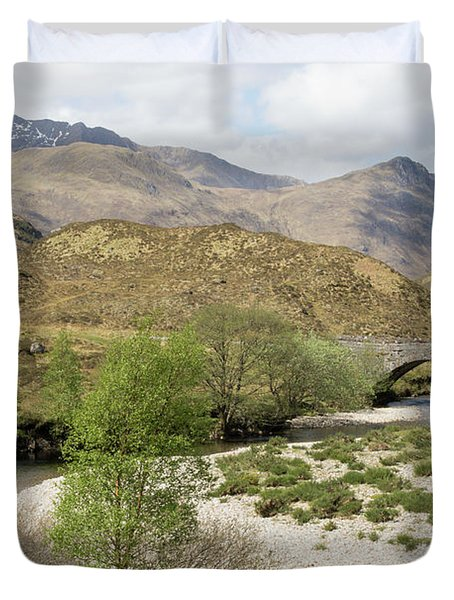 Glen Shiel - Scotland Duvet Cover