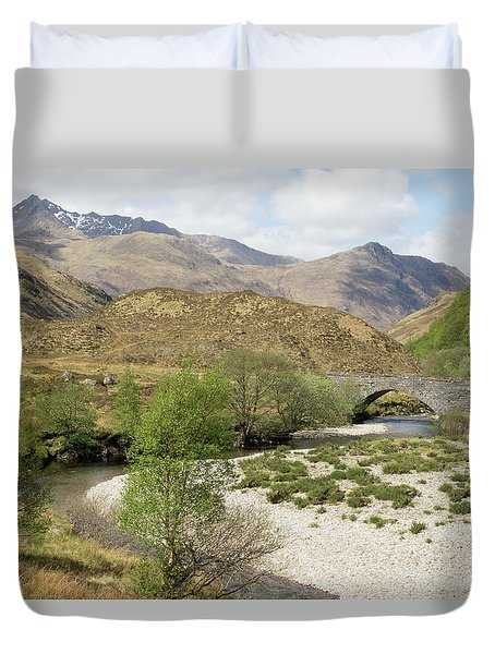 Glen Shiel - Scotland Duvet Cover