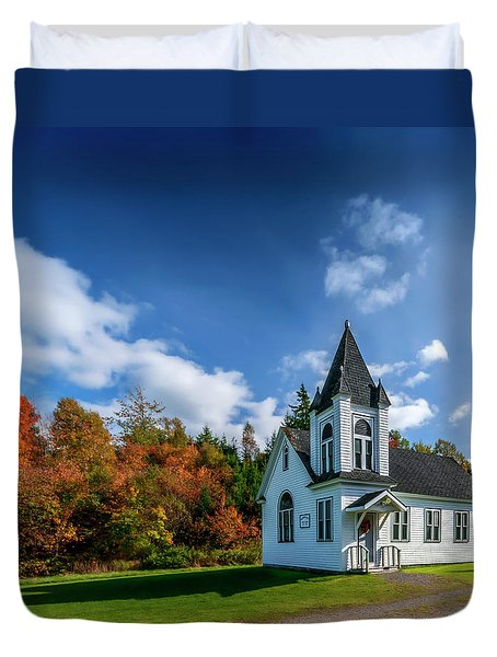 Glen Valley United Church Duvet Cover