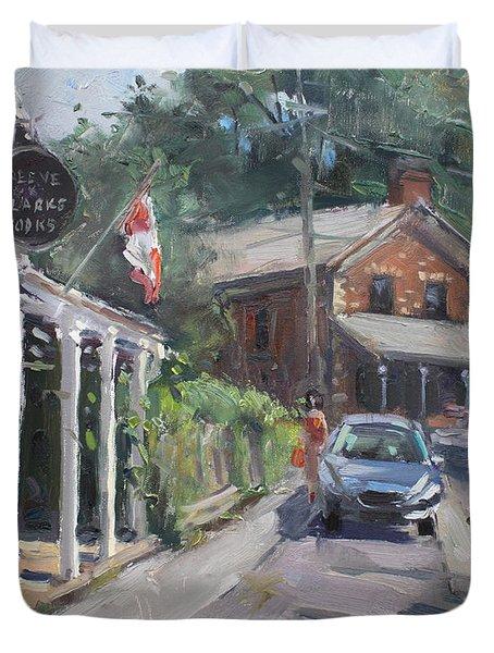 Glen Williams Ontario Duvet Cover