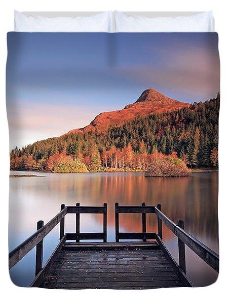 Glencoe Lochan  Duvet Cover