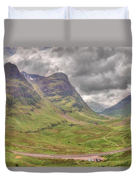 Glencoe    Duvet Cover by Ray Devlin