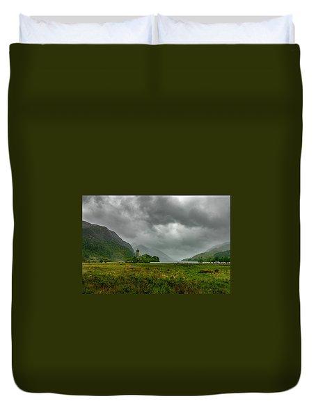 Glencoe, Scotland Duvet Cover