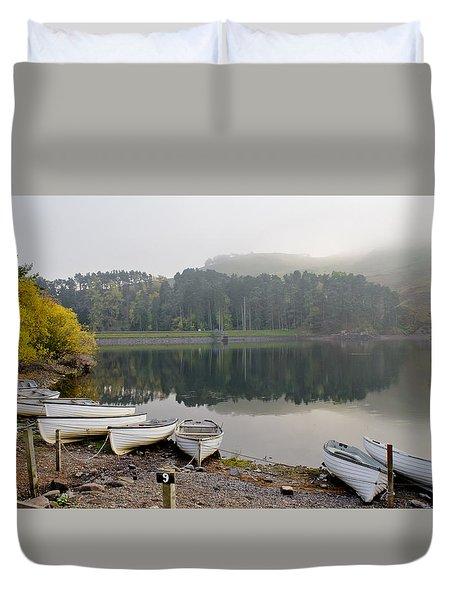 Glencorse Reflection. Duvet Cover