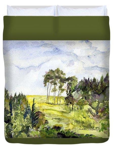 Glendalough Hillside Duvet Cover