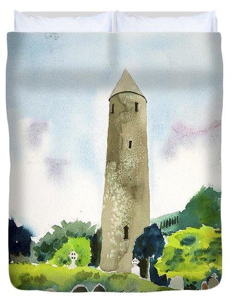 Glendalough Tower Duvet Cover