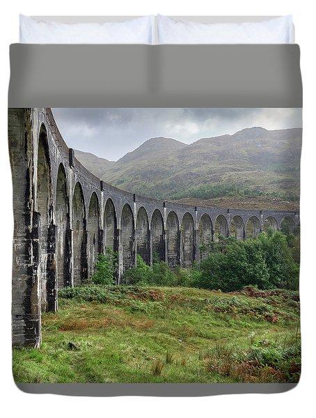 Glenfinnan - Scotland Duvet Cover