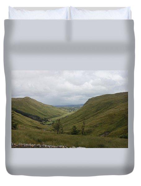 Glengesh Pass Duvet Cover